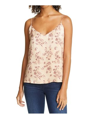 L'Agence jane floral silk camisole