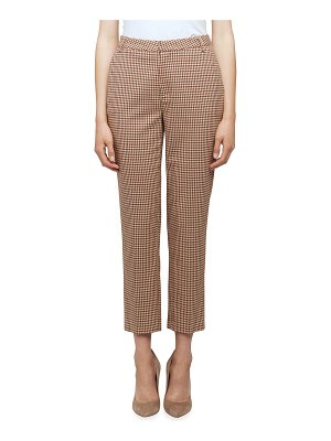 L'Agence Ludivine Check Trousers