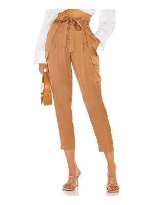L'Agence roxy paperbag cargo pant