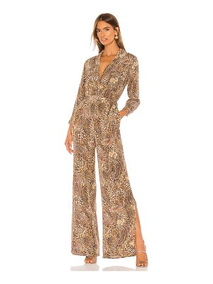 L'Agence teddy 3/4 sleeve jumpsuit