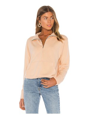 LAmade bello half zip sweatshirt