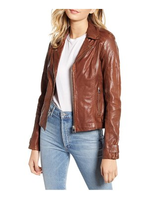 LaMarque leather biker jacket