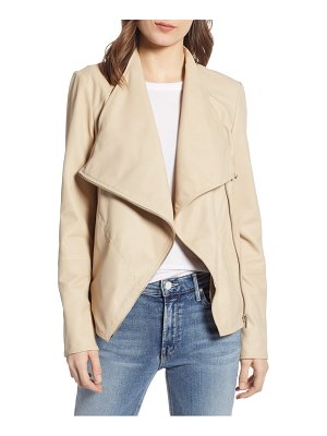 LaMarque waterfall leather jacket