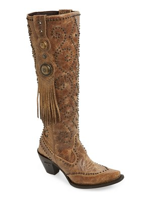 LANE BOOTS conchita knee high western boot