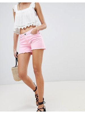 Lasula Frayed Denim Shorts