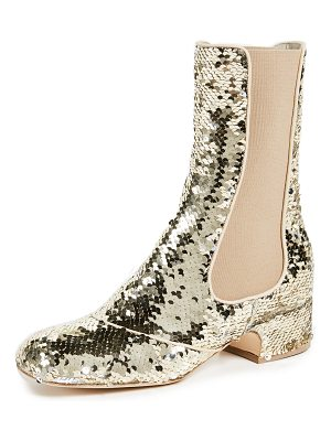 Laurence Dacade pelen sequins booties