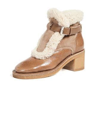 Laurence Dacade shearling boots