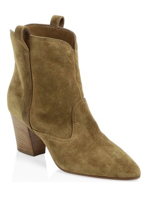 Laurence Dacade sheryll western suede ankle boots