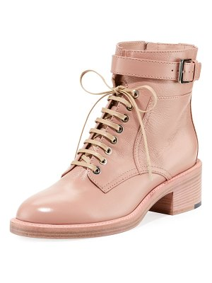 Laurence Dacade Solene Leather Lace-Up Bootie