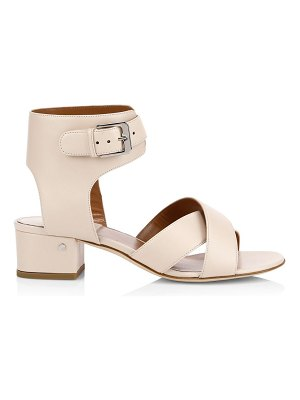 Laurence Dacade teodosia leather ankle-strap sandals