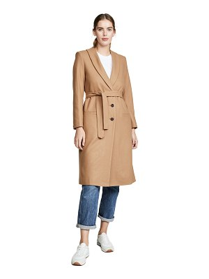 Laveer wrap coat