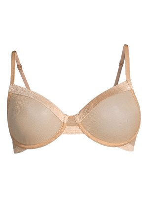 Le Mystere infinite sheer unlined bra
