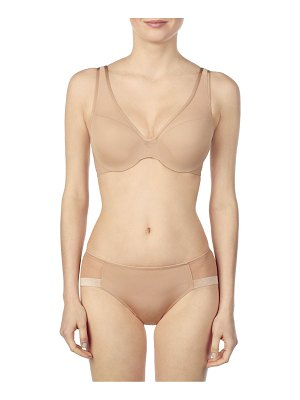 Le Mystere sheer illusion demi bra