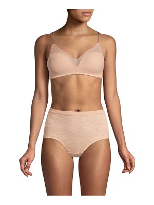 Le Mystere sheer illusion wireless bra