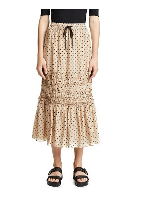 LEE MATHEWS ingall spot skirt