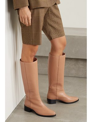 legres leather knee boots