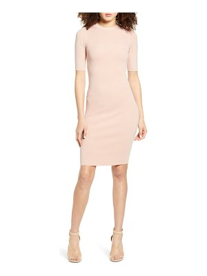 Leith body-con sweater dress