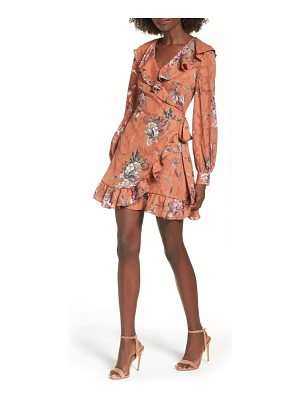 LEITH Capey Wrap Dress
