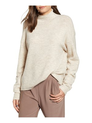 Leith cozy mock neck sweater