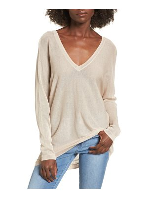LEITH Double V-Neck Sweater