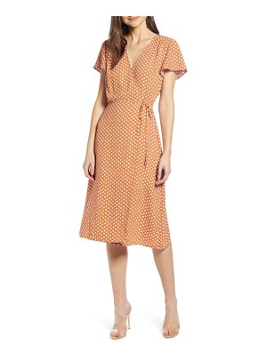 Leith wrap dress