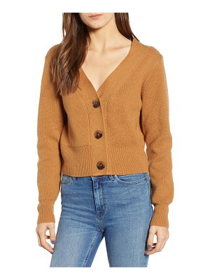Leith portrait neck cardigan