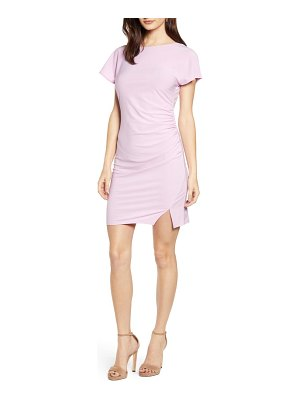 Leith ruched minidress