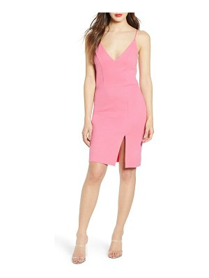 Leith v-neck body-con dress