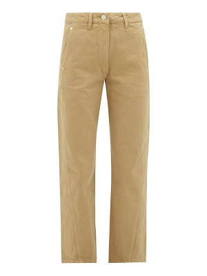 LEMAIRE high-rise denim trousers