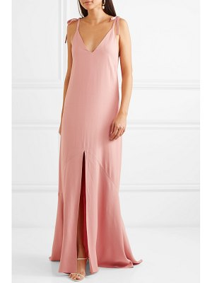 Les Héroïnes the aretha crepe maxi dress