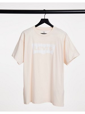 Levi's batwing logo t-shirt in dusty pink
