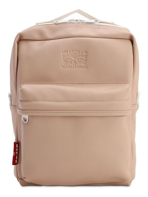 LEVI'S RED TAB The l pack baby faux leather backpack