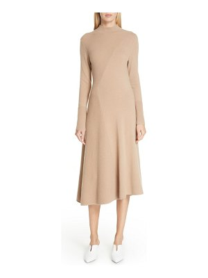 LEWIT cashmere blend sweater dress