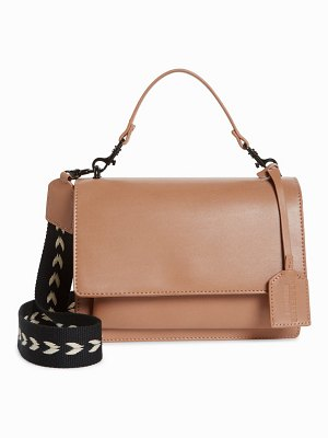 LIKE DREAMS faux leather shoulder bag
