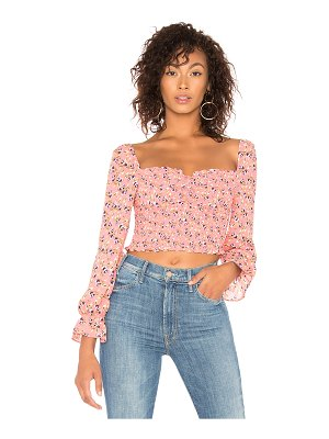 LIKELY Camilla Floral Arabella Top