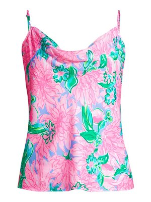 Lilly Pulitzer bobbie floral print camisole