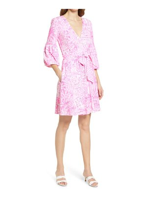 Lilly Pulitzer lilly pulitzer chace print faux wrap dress
