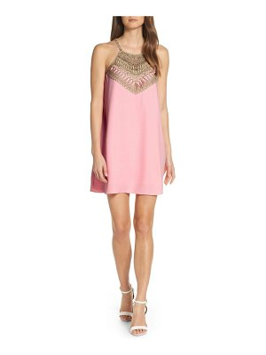 Lilly Pulitzer lilly pulitzer embroidered yoke shift dress