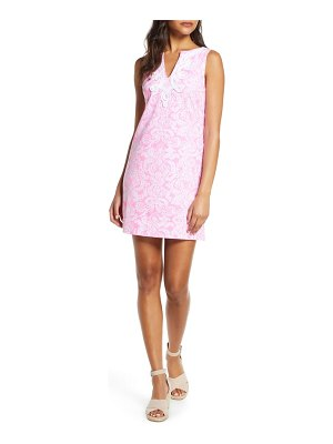 Lilly Pulitzer lilly pulitzer harper stretch cotton shift dress