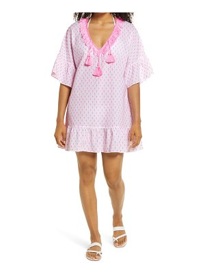 Lilly Pulitzer lilly pulitzer kipper clip dot cover-up dress