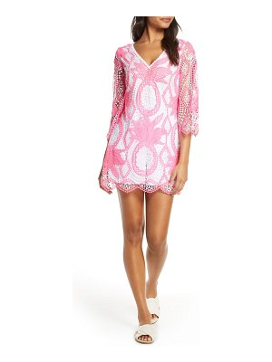 Lilly Pulitzer lilly pulitzer lottie crochet lace romper