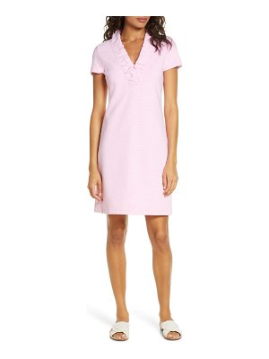 Lilly Pulitzer lilly pulitzer tisbury stripe ruffle neck dress