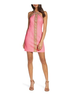 Lilly Pulitzer lilly pulitzer vena embroidered minidress