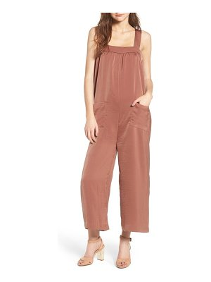 LINE & DOT Ali Satin Jumpsuit