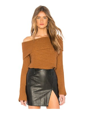 Line & Dot Benigna Off Shoulder Sweater