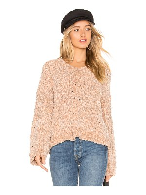 Line & Dot Lane Chenille Sweater