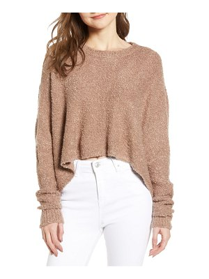 Lira Clothing mattie crop sweater