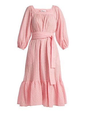 Lisa Marie Fernandez Laure Broderie Anglaise Cotton Dress