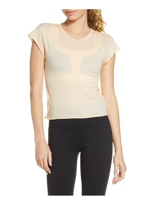 Live the PROCESS ballet cap sleeve top