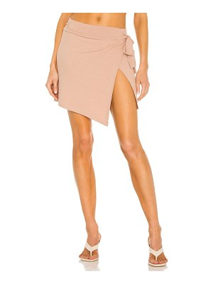 LnA carusso wrap skirt